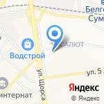 Щит на карте Белгорода