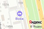 Схема проезда до компании VOYAGE в Белгороде