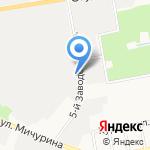 Бакалея на карте Белгорода