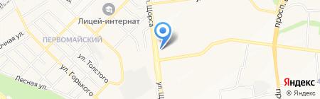 Belmama.ru на карте Белгорода