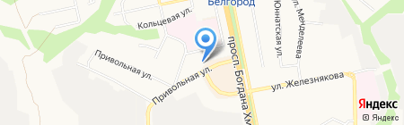 Весы на карте Белгорода
