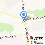 Марлен на карте Белгорода