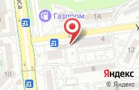 Схема проезда до компании Белфармаком в Белгороде