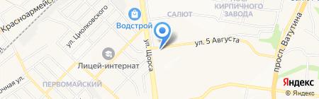 Фармакор на карте Белгорода