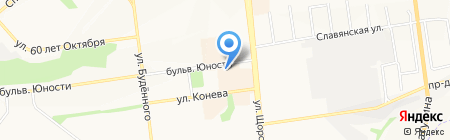 Львёнок на карте Белгорода