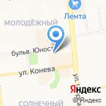 Богиня на карте Белгорода