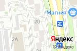 Схема проезда до компании Свет Алекс в Белгороде