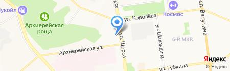 Лечебно-диагностический центр на карте Белгорода