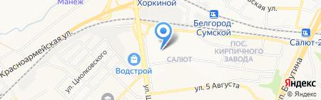 Детский сад №17 Салют на карте Белгорода