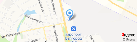 Стол-Сити на карте Белгорода