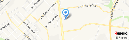 Велес на карте Белгорода