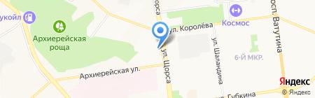 Милена Тревел на карте Белгорода