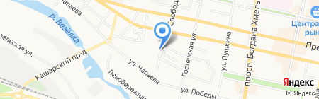 Участковый пункт полиции №11 на карте Белгорода