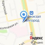 Территориальное Управление Федеральной службы финансово-бюджетного надзора в Белгородской области на карте Белгорода