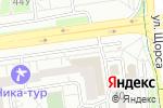 Схема проезда до компании ПЕШЕХОДkids в Белгороде
