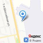 Hyundai на карте Белгорода