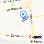 Чудо Бочка на карте Белгорода