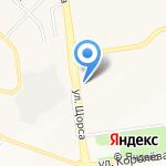 Ялта на карте Белгорода