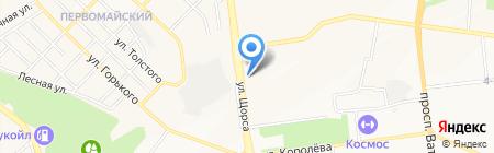 Почтовое отделение №24 на карте Белгорода