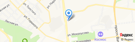 Салон причесок на карте Белгорода
