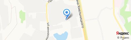 Венец на карте Белгорода