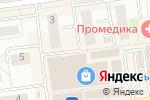 Схема проезда до компании Дом дверей в Белгороде