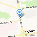 Райффайзенбанк на карте Белгорода