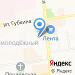 Иван на карте Белгорода