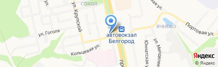 ИНТЕР ОКНА на карте Белгорода