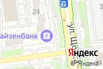 Схема проезда до компании Райффайзенбанк в Белгороде