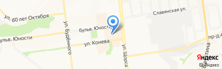 Магазин корректирующего и термобелья на карте Белгорода