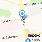 Яковлевские семейные фермы на карте Белгорода