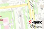 Схема проезда до компании Мир оконных технологий в Белгороде
