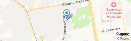 Амулет на карте Белгорода
