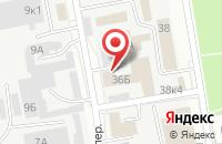 Схема проезда до компании Амулет в Белгороде