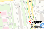 Схема проезда до компании YULSUN в Белгороде