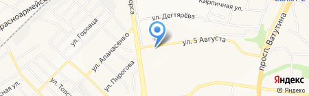 Москва на карте Белгорода