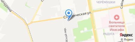 Леон на карте Белгорода