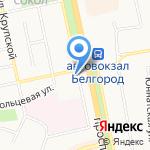 Почтовое отделение №16 на карте Белгорода