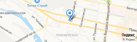 Дёнер-кебаб на карте Белгорода