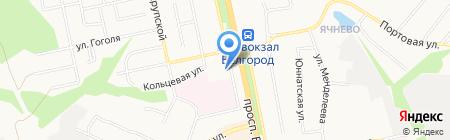 УФК на карте Белгорода