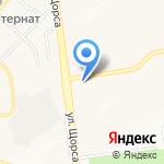 Водяной на карте Белгорода