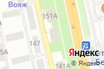 Схема проезда до компании Элпо Плюс в Белгороде