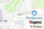 Схема проезда до компании Компания по изготовлению мебели под заказ в Белгороде