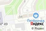 Схема проезда до компании Мьюзикметод в Белгороде