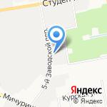 Учебно-курсовой комбинат на карте Белгорода