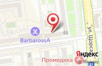 Схема проезда до компании Авангард в Белгороде