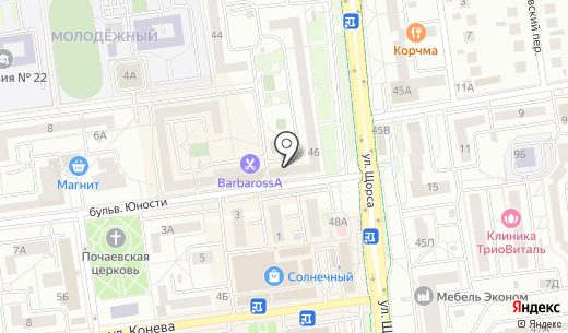 SimaxAuto. Схема проезда в Белгороде