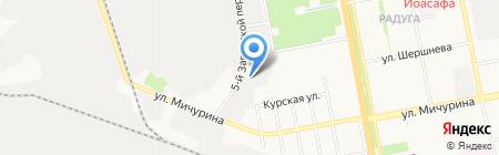 RED BULL на карте Белгорода