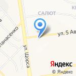 Постелька на карте Белгорода